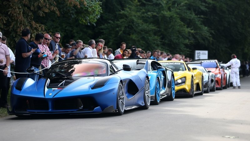 The Most Exciting Goodwood HIll Climb Videos From Over The Weekend