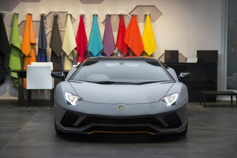 This One-Off Lamborghini Aventador S Was One Of The Secret Highlights Of Goodwood Exterior High Resolution - image 722205