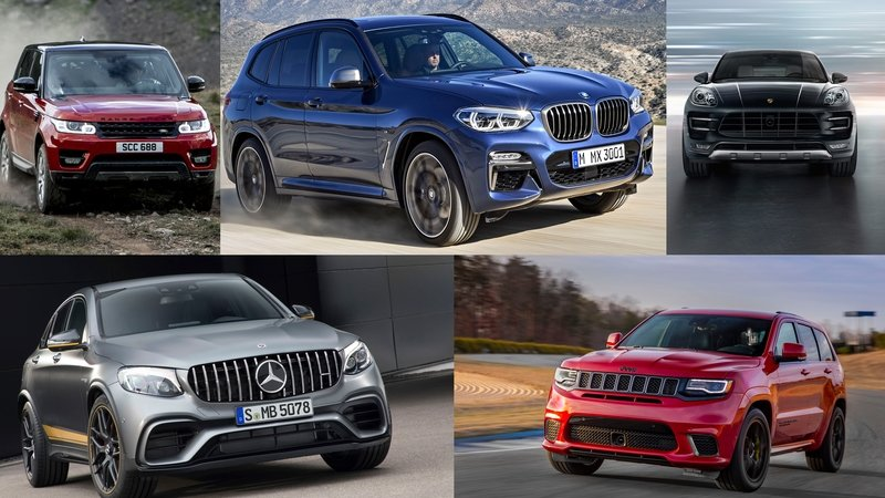 TopSpeed's Top 5 Physics-Defying Performance Crossovers And SUVs