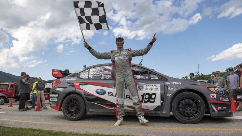 Travis Pastrana Sets Mt. Washington Hill Climb Record