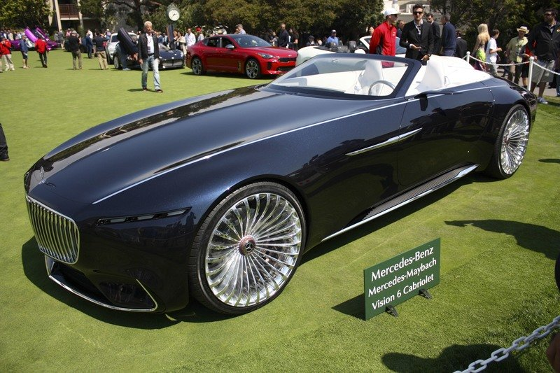 Mercedes Let Us Down with the Maybach Vision 6 Cabriolet Exterior High Resolution - image 727418