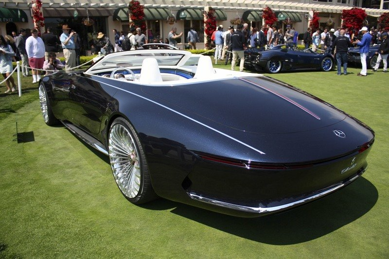 Mercedes Let Us Down with the Maybach Vision 6 Cabriolet