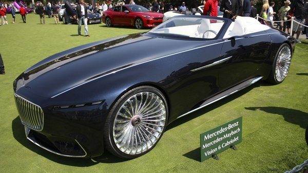 2017 Mercedes Maybach Vision 6 Cabriolet Review Top Speed