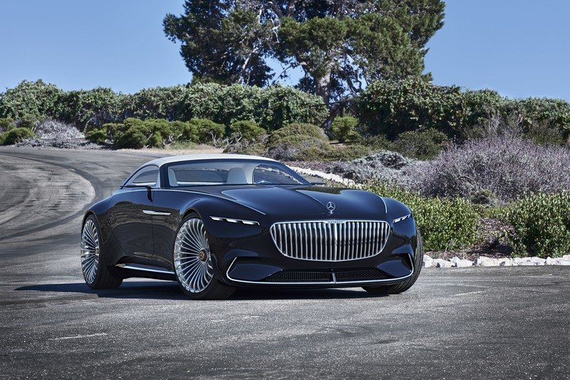 2017 Mercedes-Maybach Vision 6 Cabriolet Exterior High Resolution Wallpaper quality - image 727391