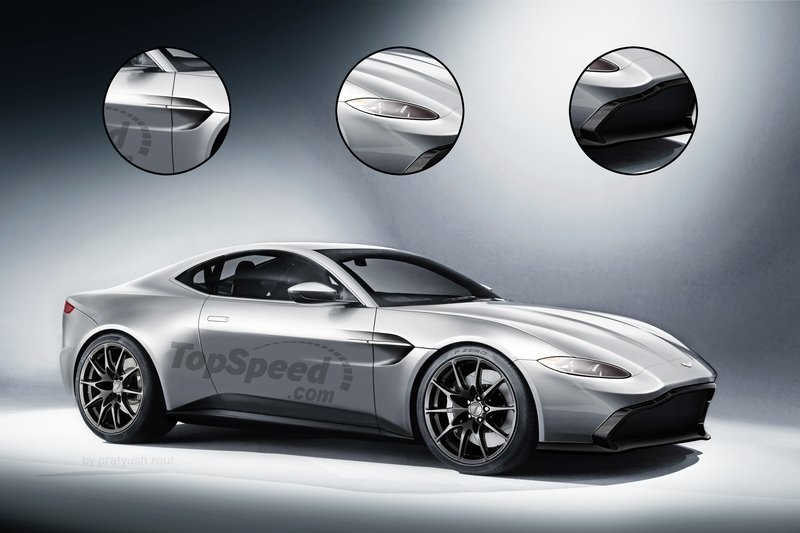 2018 Aston Martin Vantage Exclusive Renderings Computer Renderings and Photoshop Exterior - image 728545