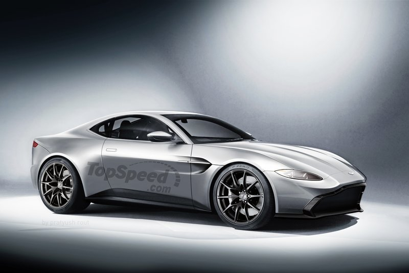 2018 Aston Martin Vantage Exclusive Renderings Computer Renderings and Photoshop Exterior - image 728544