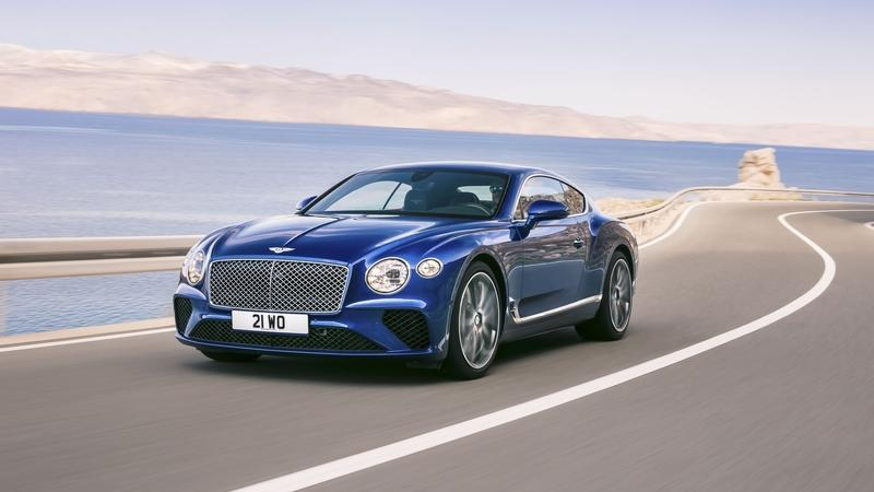2018 Bentley Continental GT Exterior High Resolution - image 729024