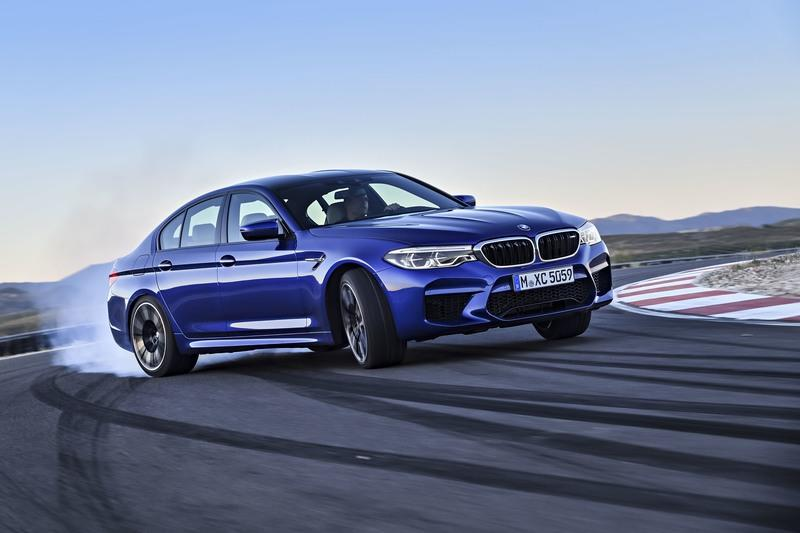 Wallpaper of the Day: 2018 BMW M5