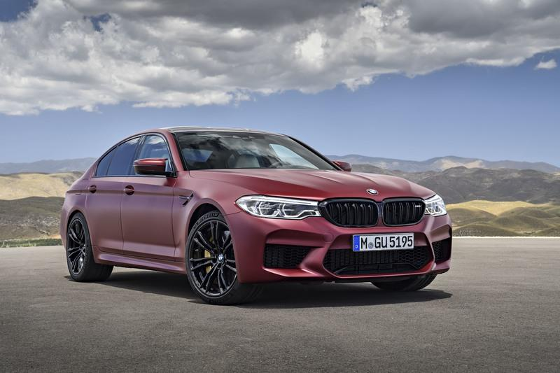2018 BMW M5 High Resolution Exterior - image 727619