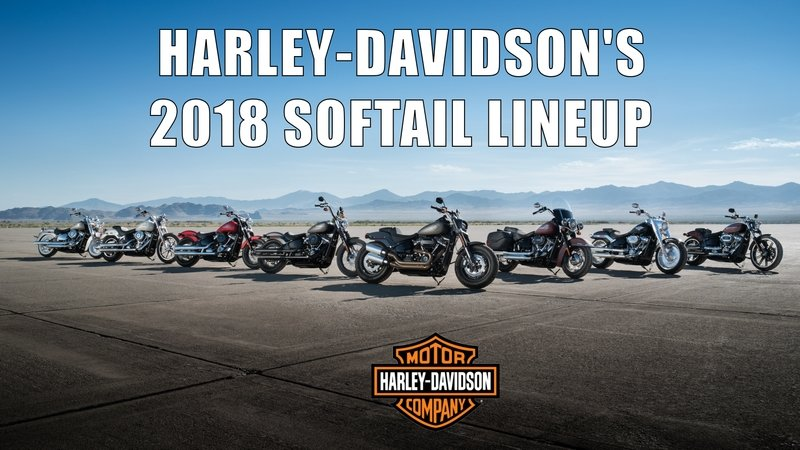 Harley-Davidson Announces 2018 Softail Lineup