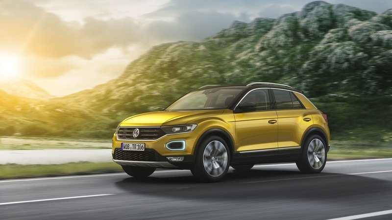 2018 Volkswagen T-Roc High Resolution Exterior Wallpaper quality - image 728087