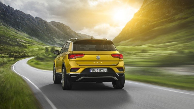 2018 Volkswagen T-Roc Exterior High Resolution Wallpaper quality - image 728088