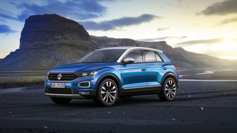 2018 volkswagen t-roc | top speed