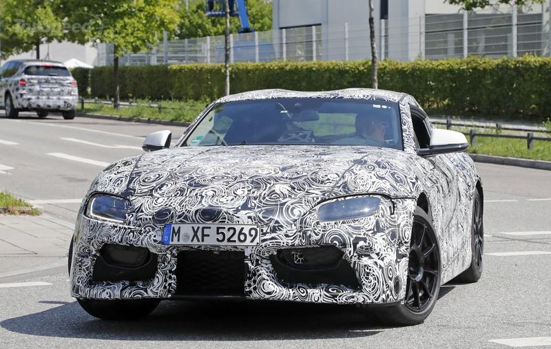 Leaked Toyota Supra Specs Give us Hope That it'll Debut Soon Spyshots Exterior - image 725954
