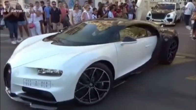 Apparently, The Bugatti Chiron Isn't Invincible To The Elements: Video