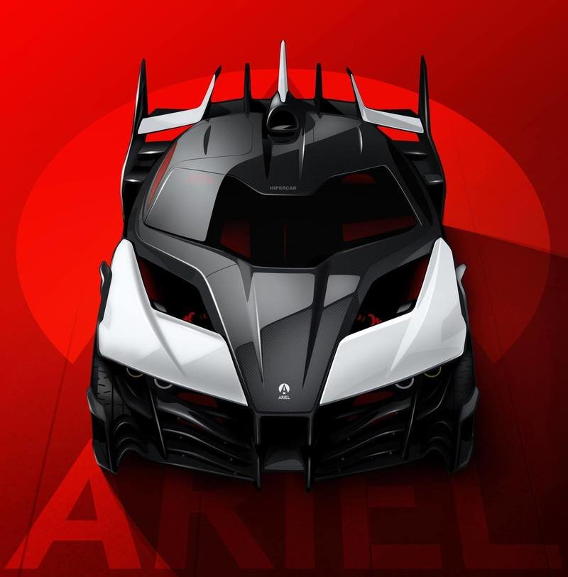 Ariel Sets Its Sights On Building A 1,180-Horsepower Hypercar Exterior Computer Renderings and Photoshop - image 728024
