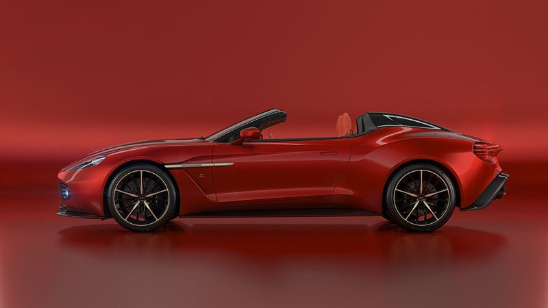 2018 Aston Martin Vanquish Zagato Speedster High Resolution Exterior - image 726607