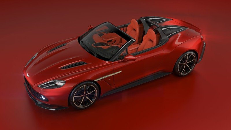2018 Aston Martin Vanquish Zagato Speedster High Resolution Exterior - image 726608