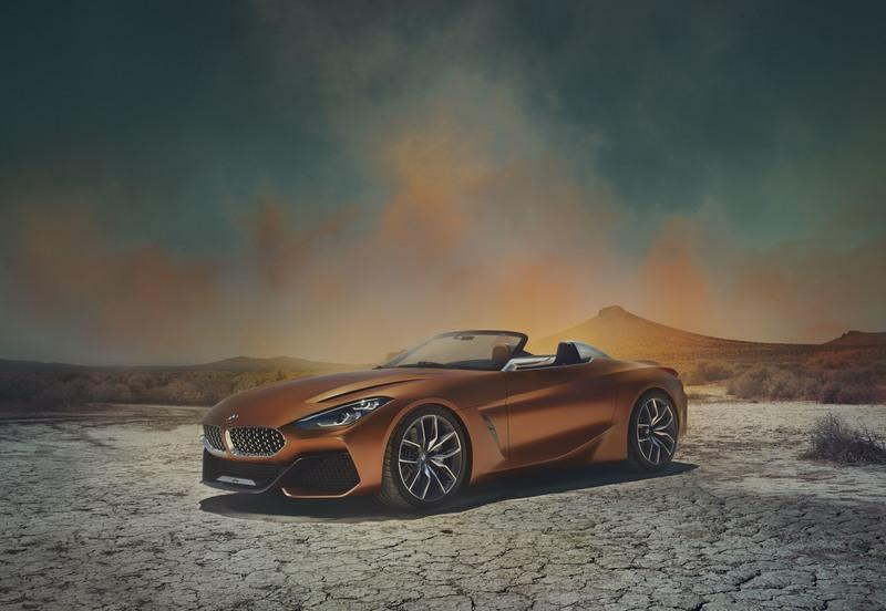 2017 BMW Concept Z4 High Resolution Exterior Wallpaper quality - image 726938