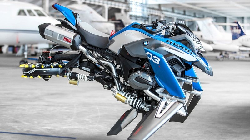The BMW R 1200 Hover Bike Concept - From Fiction to Reality?