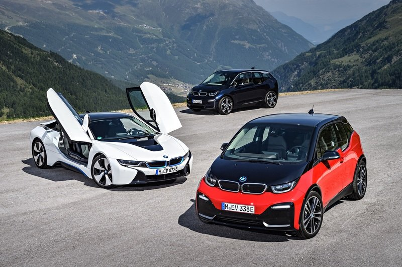 BMW Trademarks i1 Through i9 in Preparation for its EV Onslaught