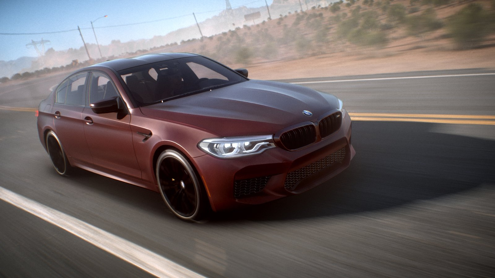 drive the new bmw m5 first in need for speed payback news top speed. Black Bedroom Furniture Sets. Home Design Ideas