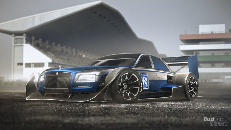 Budget Direct Renders 9 Everyday Cars With F1 Style