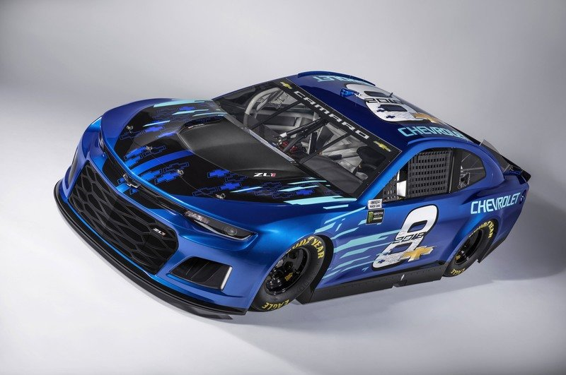 Goodbye Chevy SS, Hello Camaro ZL1 – Chevy's New NASCAR Cup Race Car Announced! Exterior High Resolution - image 726077