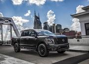 2017 Nissan Titan & Frontier Midnight Editions - image 727531