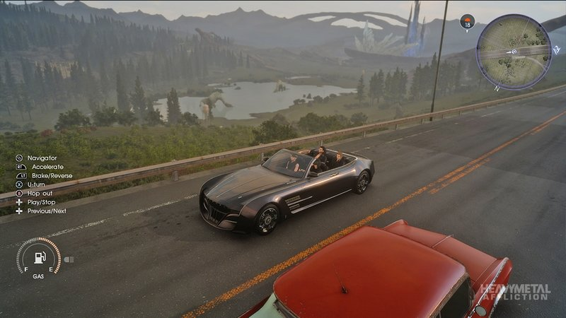 Final Fantasy XV's Regalia Four-Door Convertible Is Now Playable On Forza Horizon 3