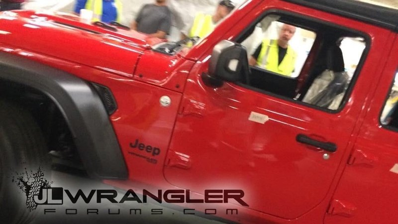 Holy Toledo! 2018 Jeep Wrangler JL Breaks Cover
