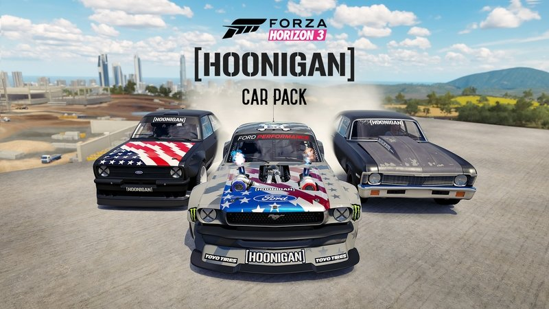 Ken Block's Hoonicorn Mustang Highlights New Hoonigan Car Pack For Forza Horizon 3
