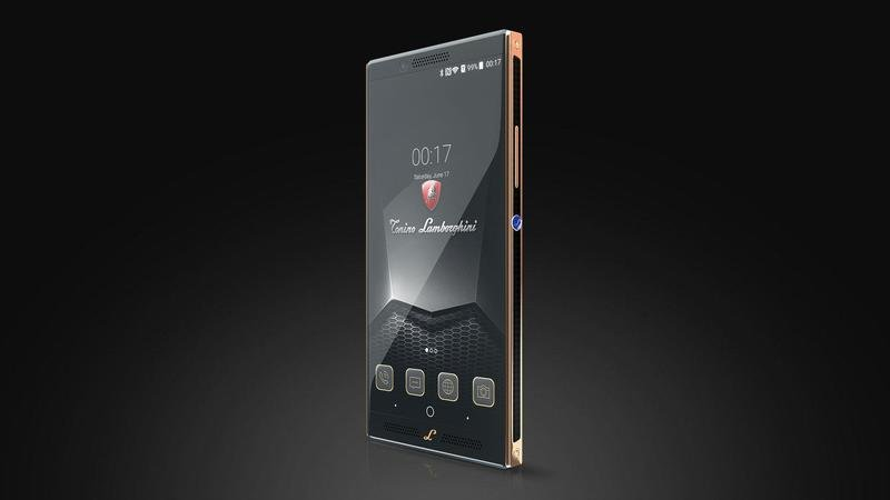 Lamborghini's New Alpha-One Smartphone Is The Definition Of Unnecessary Excess