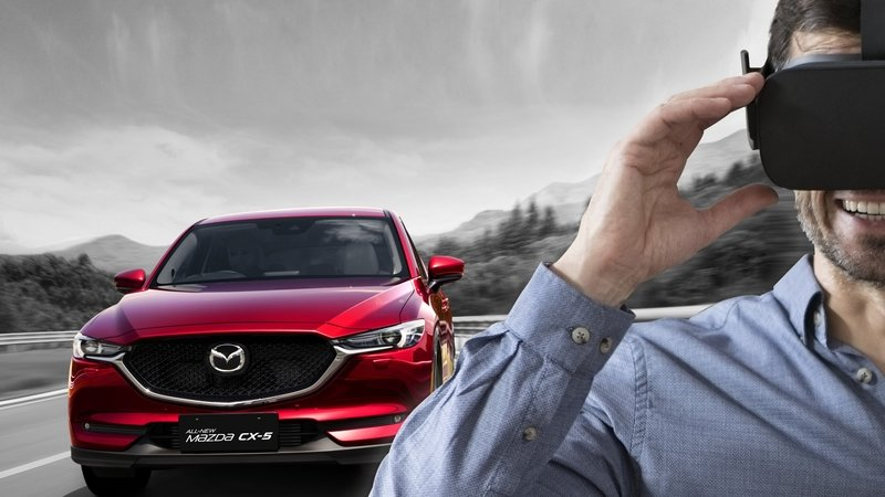 Mazda Introduces Virtual Reality Test Drives At U.K. Dealers