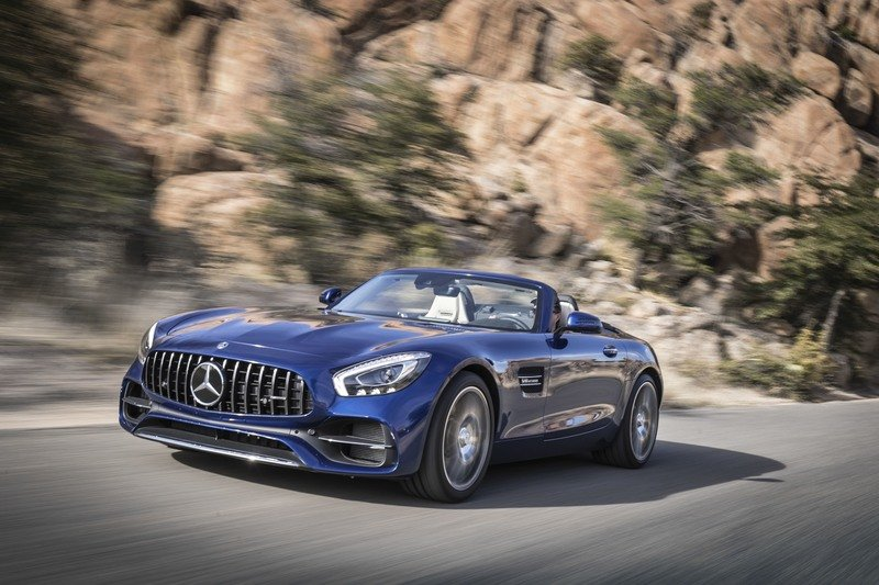 2018 Mercedes-AMG GT Roadster High Resolution Exterior - image 725715