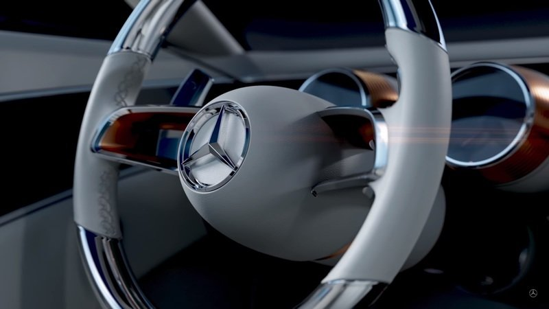 Mercedes Teases Its New Concept For Pebble Beach Concours d'Elegance