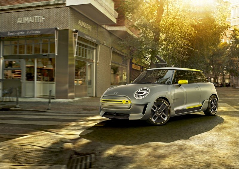 2017 MINI Electric Concept Exterior High Resolution Wallpaper quality - image 728864