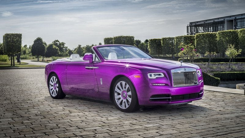 2017 Rolls Royce Dawn in Fuxia