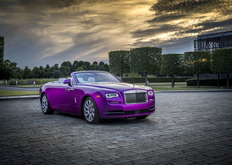 2017 Rolls Royce Dawn in Fuxia Exterior High Resolution Wallpaper quality - image 727496
