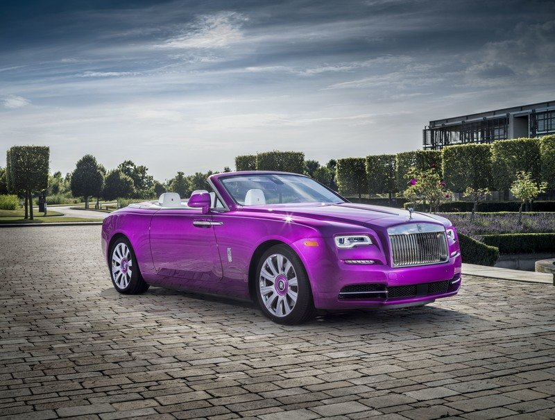 2017 Rolls Royce Dawn in Fuxia Exterior High Resolution Wallpaper quality - image 727499
