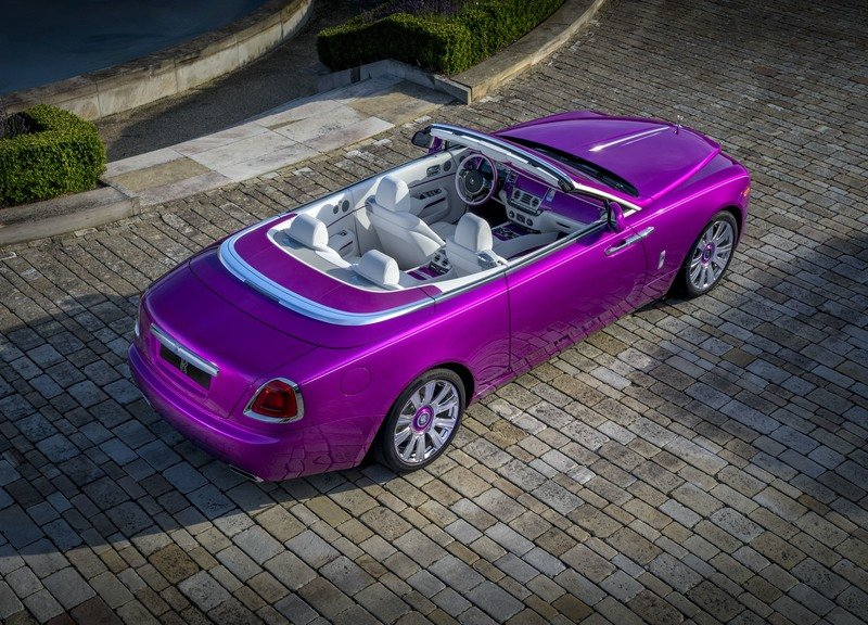 2017 Rolls Royce Dawn in Fuxia Exterior High Resolution - image 727500