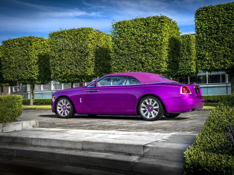 2017 Rolls Royce Dawn in Fuxia Exterior High Resolution Wallpaper quality - image 727502