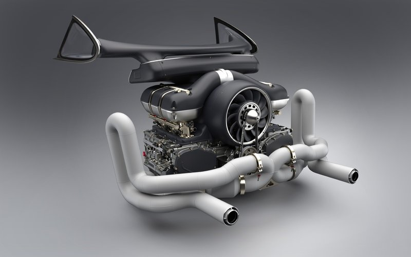 Singer Teams Up With Williams To Create 500-horsepower Porsche Engines Drivetrain High Resolution - image 726030