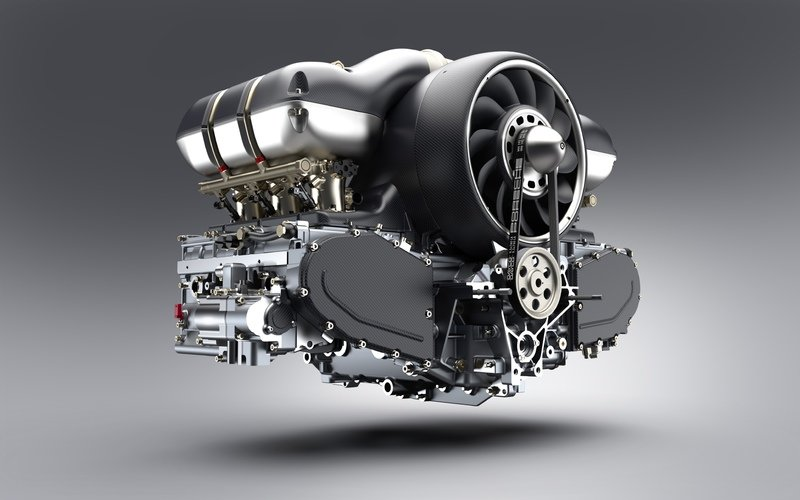 Singer Teams Up With Williams To Create 500-horsepower Porsche Engines Drivetrain High Resolution - image 726031
