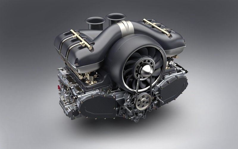 Singer Teams Up With Williams To Create 500-horsepower Porsche Engines Drivetrain High Resolution - image 726026