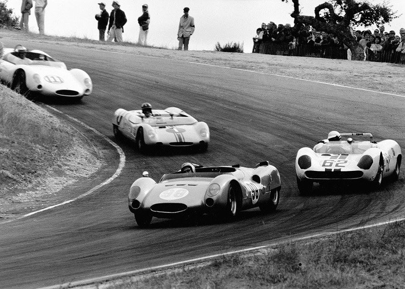 Six Decades of Racing History Headed to Laguna Seca