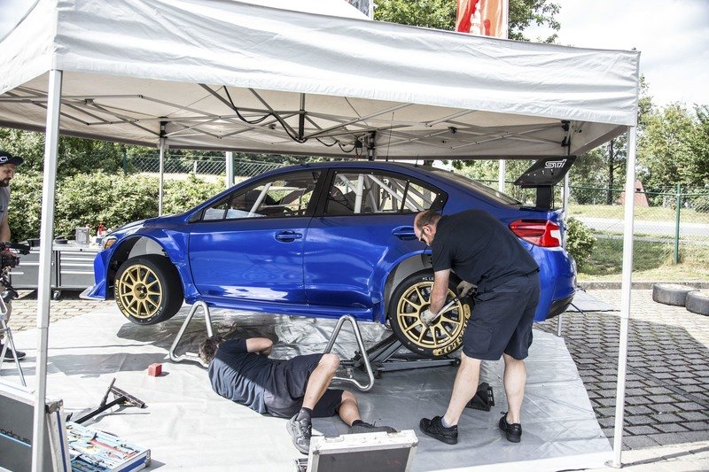 Subaru Sets Nurburgring Record for Sedans with Beefed-up WRX STi Exterior High Resolution - image 725637
