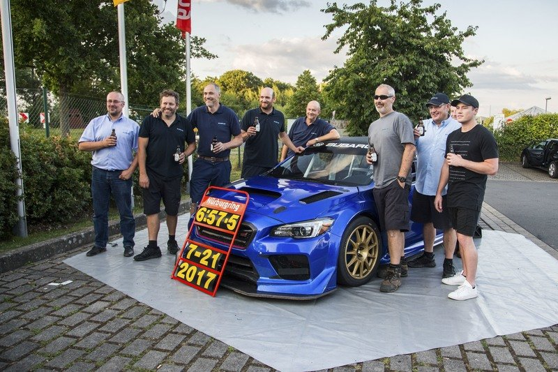Subaru Sets Nurburgring Record for Sedans with Beefed-up WRX STi Exterior High Resolution - image 725659