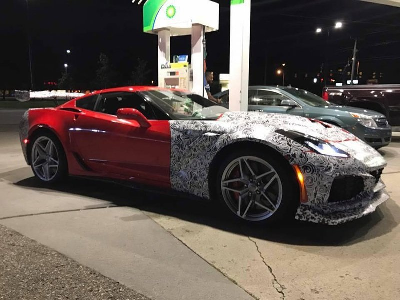 The Chevy Corvette ZR1 Spotted with Less Camo; Proves Porsche and Ferrari Should Worry