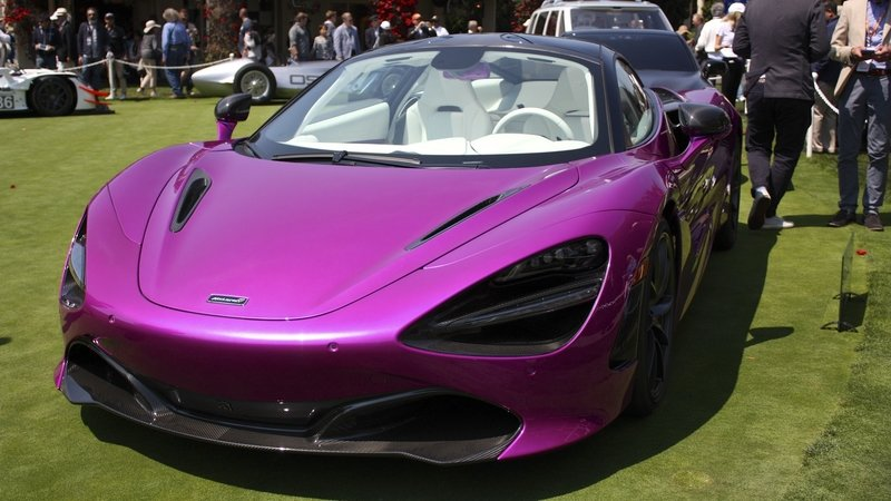The McLaren 720S Goes Flamboyantly Purple as a One-Off at Pebble Beach - image 727479